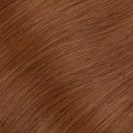 Ľudské vlasy clip-in Červené