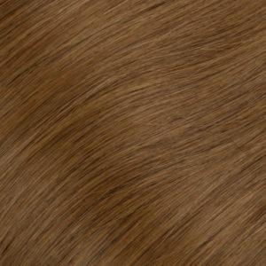 Ľudské vlasy clip-in Zlatá jasná hnedá