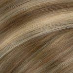 Ľudské vlasy clip-in Baleyage jasný a tmavý blond
