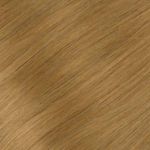 Ľudské vlasy clip-in Tmavý blond 8