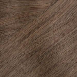 100% Ľudské vlasy clip-in Tmavý medený blond 5A