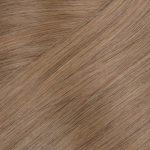 60CM, 5 Pásmové, 65G 100% Ľudské vlasy clip-in Temný chladný blond 10.