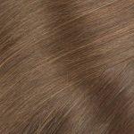 Ľudské vlasy clip-in Tmavý blond