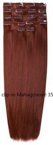 clip-in Mahagónové 35