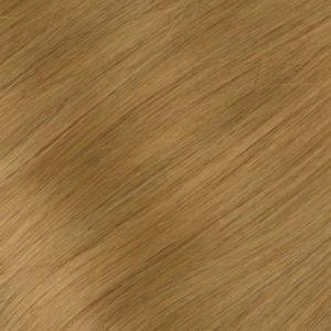 Ľudské Keratínové vlasy Tmavý blond 8