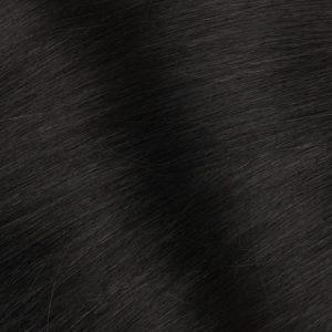 Ľudské vlasy Micro Ring Čierne 1