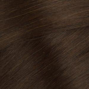 Ľudské vlasy Micro Ring Hnedé