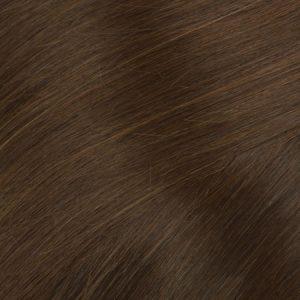 Ľudské vlasy Micro Ring Koňakové