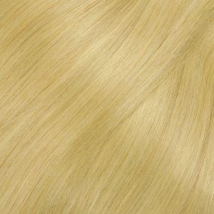 53 cm Ľudské vlasy Micro Ringy Prírodný blond 0,8 g prameň