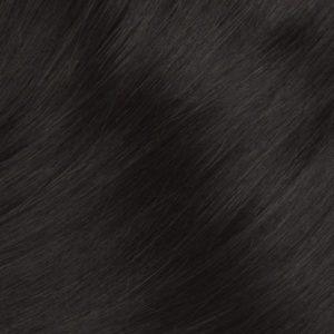 Ofina 100% Ľudské vlasy Tmavo hnedé 1B
