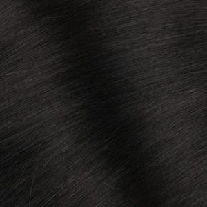 Vrkoč Ľudské vlasy Dĺžka 50 cm Váha 80 g Čierne 1