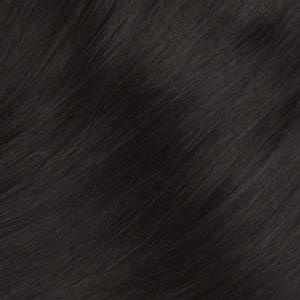 Vrkoč Ľudské vlasy Dĺžka 50 cm Váha 80 g Tmavo hnedé 1B