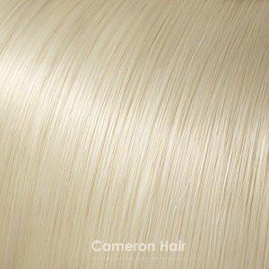 Vrkoč na štipcoch syntetický Platinový blond
