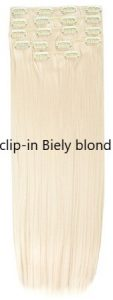 clip-in Biely blond 60