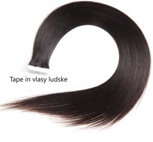 Tape in vlasy ľudské.