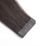 Ľudské vlasy clip-in Čierne