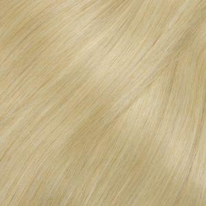 Ľudské vlasy clip-in Jasný blond