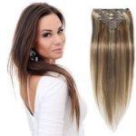 Clip in 43 cm, 8 Pásmové, 120G Ľudské vlasy 59,00 €
