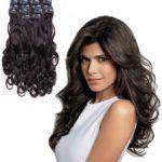 Clip in vlasy-60 cm, 5 Pásmové, 65G Ľudské vlasy 48,00€