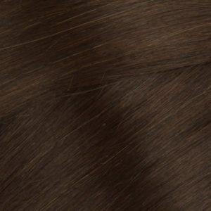 Flip In-Clip In100% ľudské vlasy. Hnedé.3