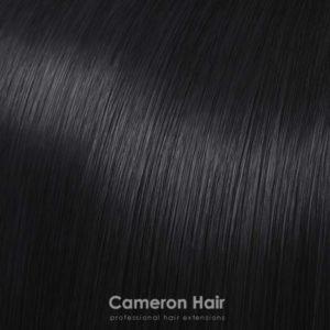 Flip in vlasy umele Čierna 1