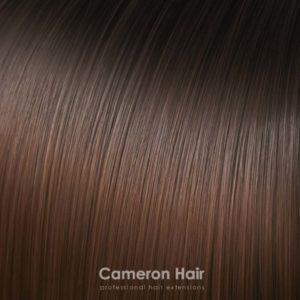 Flip in vlasy umele.T6 / 30 Ombre čokoládovo hnedá.