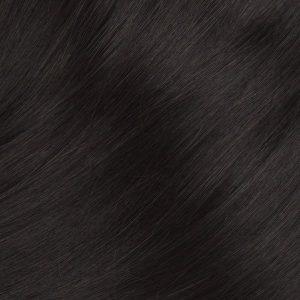 Clip in Ľudské vlasy.Tmavo hnedá 1B