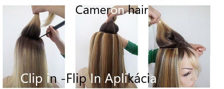 Clip in -Flip In Aplikácia