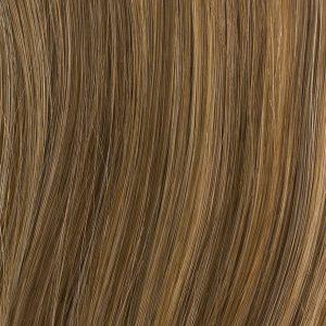 Clip in príčesky syntetické- cop, vrkoč 60 cm.čokoládová blond