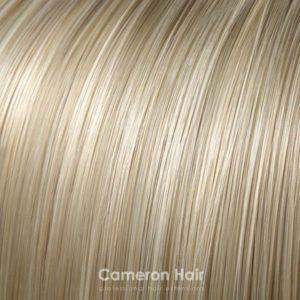 Parochňa polovičná – kučeravé vlasy.24/613 Stredná blond s platinovou blond