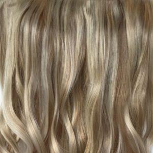 Parochňa polovičná - kučeravé vlasy .14/88 H blond