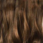 Parochňa polovičná - kučeravé vlasy 6 ATmavohnedá s odrazmi
