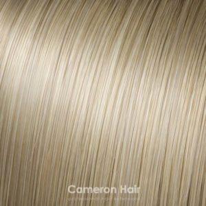 Parochňa polovičná - kučeravé vlasy R24 / 613 Svetlá blond so strednou