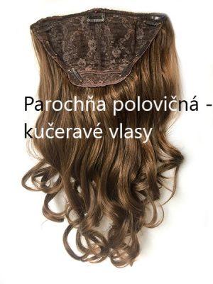 Parochňa polovičná - kučeravé vlasy