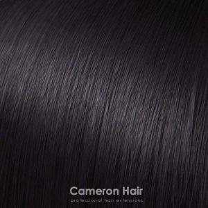 Vrkoč syntetiký vlasy 53 cm. tmavo hnedá 2