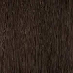 Vrkoč syntetiký vlasy 53 cm.Teplá hnedá