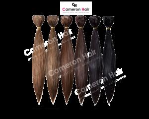 Vrkoče syntetické vlasy 53 cm. Vzorkovník (2)