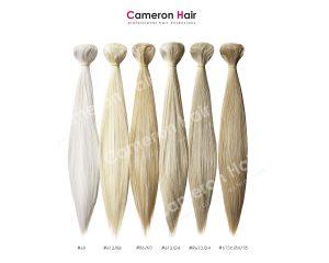 Vrkoče syntetické vlasy 53 cm. Vzorkovník.