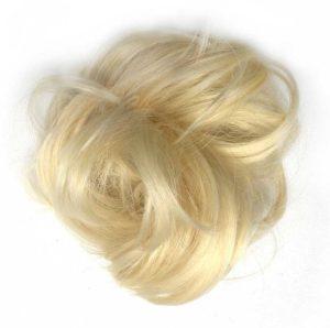 Príčesok - drdol na gumičke.Blond 613/88