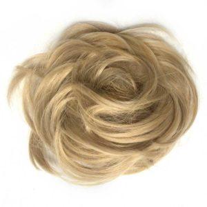 Príčesok - drdol na gumičke.Piesočná blond.613 C86,18