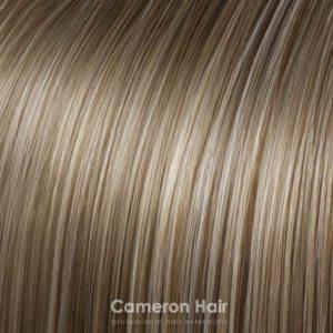 Vrkoč na štipcoch 35 cm. Čokoládová blond.