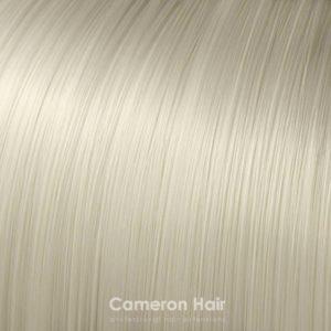 Vrkoč na štipcoch 35 cm. 60 Biely blond