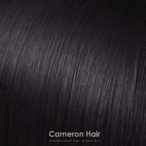 Flip in - syntetické tepelne odolné vlasy. Hnedá 2