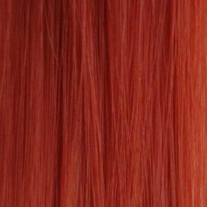 50CM, 1Pasmo 2g clip-in syntetické Funky farebný prameň červený