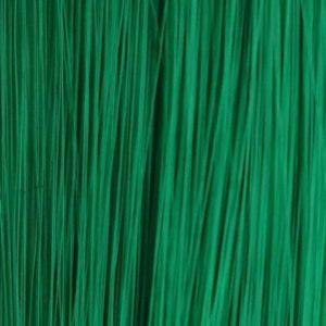 0CM, 1Pasmo 2g clip-in syntetické Funky farebný prameň zelený