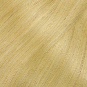 Clip in -33 cm, 8 Pásmové, 100 G Ľudské vlasy. Prírodniny blond 22