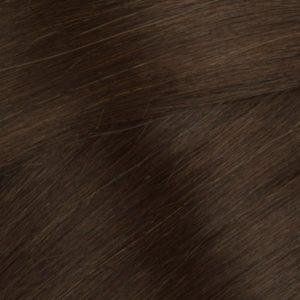 Clip in -35 cm, 8 Pásmové, 100 G Ľudské vlasy. Hnedá 2