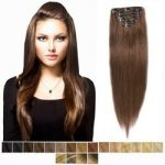 Clip in -53 cm, 5 Pásmové, 60G Ľudské vlasy