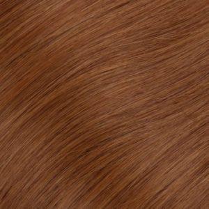 53 cm 0.5G 100% Ľudské Keratínové vlasy Červene