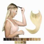 Flip in - syntetické tepelne odolné vlasy.